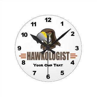 Reloj Redondo Mediano Halcones chistosos del halcón