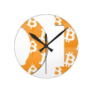 Reloj Redondo Mediano Hodl Bitcoin