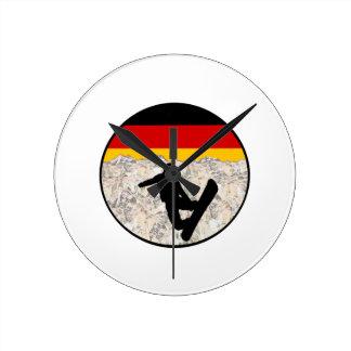 Reloj Redondo Mediano Huéspedes alemanes