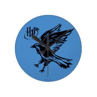 Reloj Redondo Mediano Icono de Harry Potter el | Ravenclaw Eagle