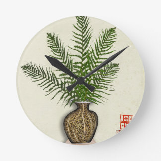 Reloj Redondo Mediano ikebana 15 por los fernandes tony