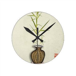 Reloj Redondo Mediano ikebana 19 por los fernandes tony