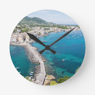 Reloj Redondo Mediano Isla de isquiones, Italia