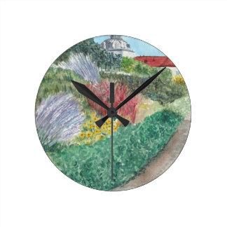 Reloj Redondo Mediano Jardines en Schloss Köpenick