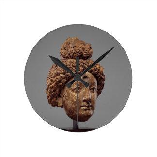 Reloj Redondo Mediano Jefe de un Buda o de un Bodhisattva