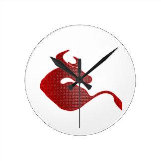 Reloj Redondo Mediano Juego con la Bull