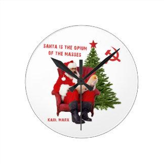 Reloj Redondo Mediano Karl Marx Santa