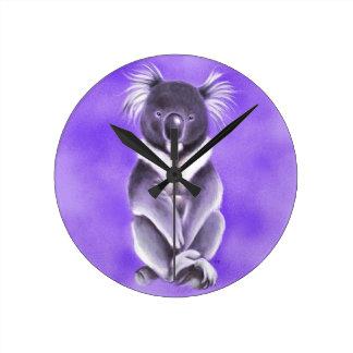 Reloj Redondo Mediano Koala de Buda