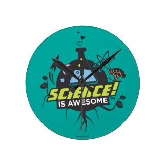 Reloj Redondo Mediano La ciencia es impresionante