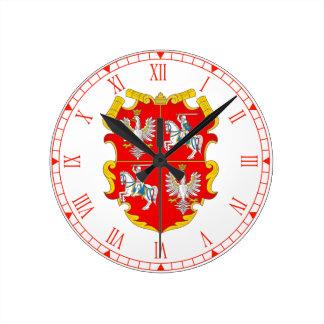 Reloj Redondo Mediano La Commonwealth de Polonia-Lituania (subida de
