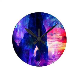 Reloj Redondo Mediano La ensenada del soñador de Amorem Amisi del