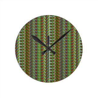 Reloj Redondo Mediano La plantilla DIY añade los regalos de moda de las