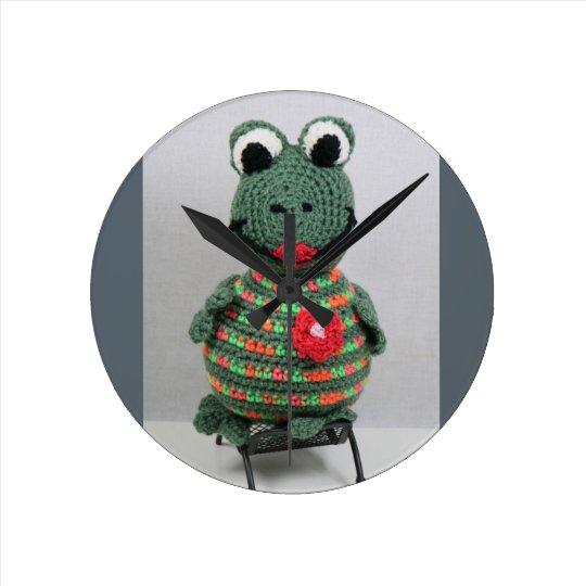 Reloj Redondo Mediano Lady Frog