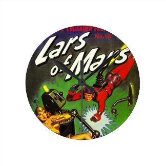 Reloj Redondo Mediano Lars de Marte