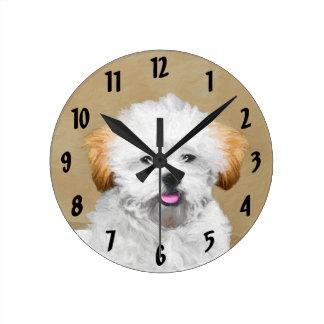 Reloj Redondo Mediano Lasa Apso