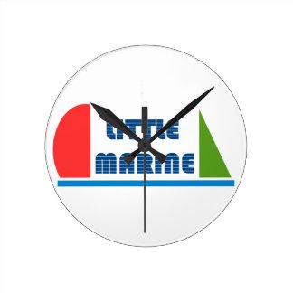 Reloj Redondo Mediano little marina