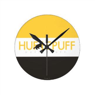 Reloj Redondo Mediano Logotipo del orgullo de la casa de Harry Potter el