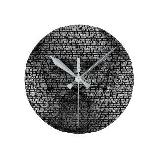 Reloj Redondo Mediano Los secretos del éxito