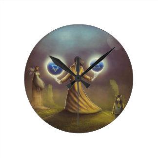 Reloj Redondo Mediano magia de la fantasía del mago