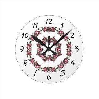 Reloj Redondo Mediano Mida el tiempo para las cosas bonitas
