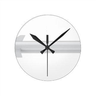 Reloj Redondo Mediano Misil de travesía