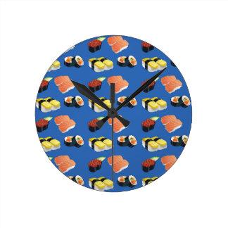 Reloj Redondo Mediano Modelo del sushi
