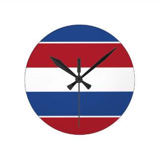 Reloj Redondo Mediano Modelo patriótico de Netherland Holanda