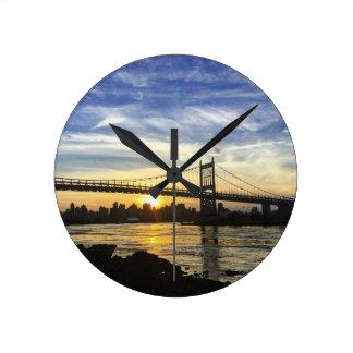 Reloj Redondo Mediano Nueva York