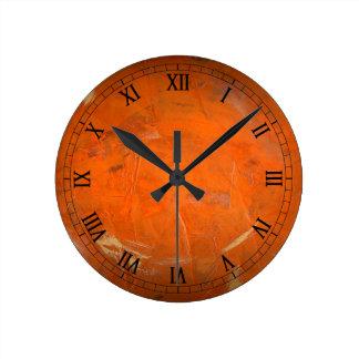 Reloj Redondo Mediano Números romanos esmaltados de Wallclock de la