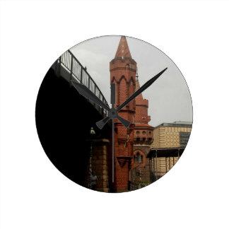 Reloj Redondo Mediano Oberbaumbrücke