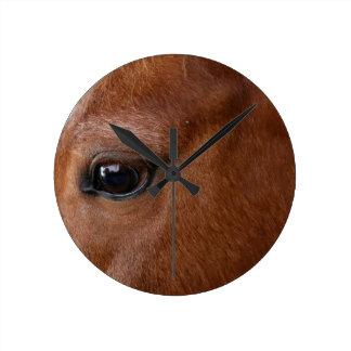 Reloj Redondo Mediano ojo del caballo