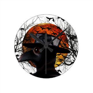 Reloj Redondo Mediano Pájaro-man