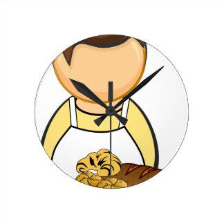 Reloj Redondo Mediano Panadero