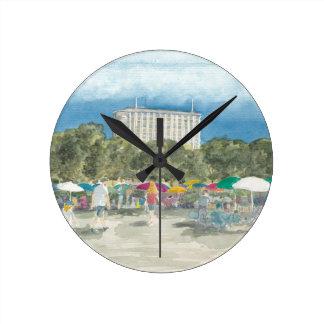 Reloj Redondo Mediano Parque tailandés Berlín
