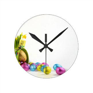 Reloj Redondo Mediano Pascua