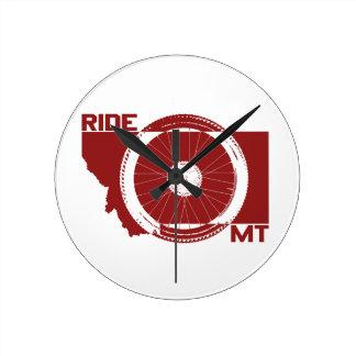 Reloj Redondo Mediano Paseo Montana
