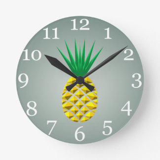 Reloj Redondo Mediano Piña