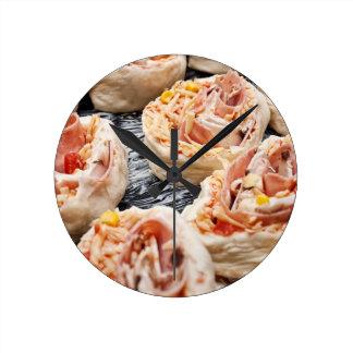 Reloj Redondo Mediano Pizzette de la hornada