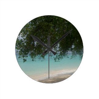 Reloj Redondo Mediano Playa adaptable de Barbados