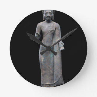Reloj Redondo Mediano Predicación de Buda