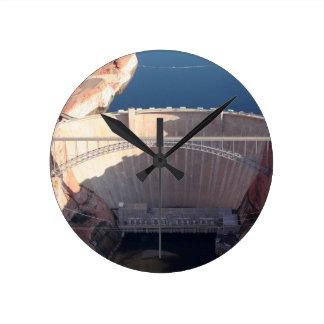 Reloj Redondo Mediano Presa y puente, Arizona de Glen Canyon