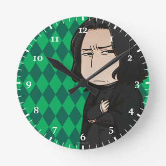 Reloj Redondo Mediano Profesor Snape del animado