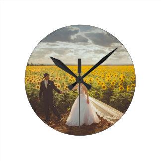 Reloj Redondo Mediano Regalos de boda
