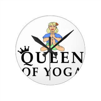 Reloj Redondo Mediano reina de la yoga