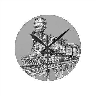 Reloj Redondo Mediano Reloj: Baldwin 1880