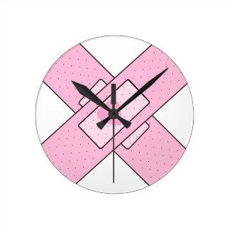 Reloj Redondo Mediano remiendo