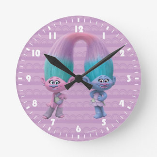Reloj Redondo Mediano Satén y felpilla de los duendes el |