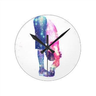 Reloj Redondo Mediano Serie de Guru de la yoga