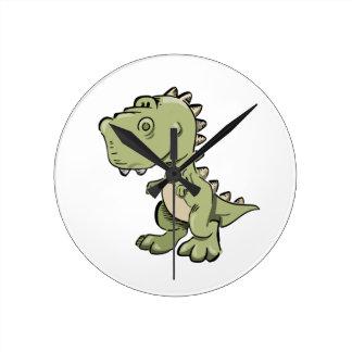 Reloj Redondo Mediano T-Rex