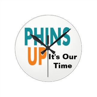 Reloj Redondo Mediano Tiempo de Phins